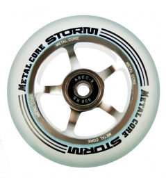 Metal Core Storm 100 mm Rollen transparent