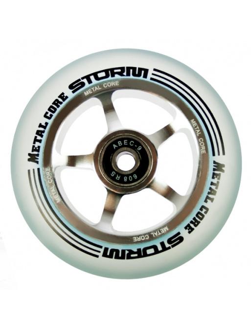 Metal Core Storm 100 mm Rollen transparent