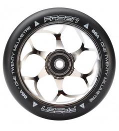 Fasen 120 mm Silber Rad schwarz