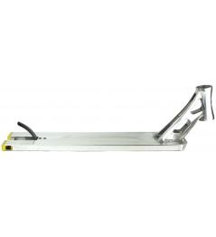 Deska pro freestyle koloběžky North Transit stříbrná 572mm