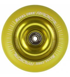 Metallkern Radical Fluorescent 110 mm gelbes Rad
