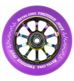 Metal Core Thunder Rainbow 110 mm Kreis lila