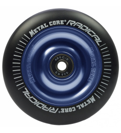 Metal Core Radical 110 mm Rad schwarz-blau