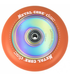 Metal Core Disc 110 mm orangenes Rad