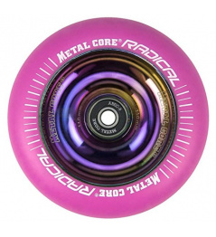 Metallkern Radical Rainbow 110 mm Kreis pink