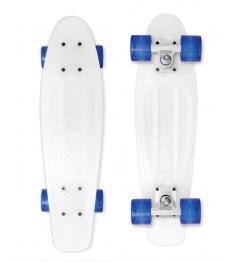 Skateboard Street Surfing BEACH BOARD Milky, bílý
