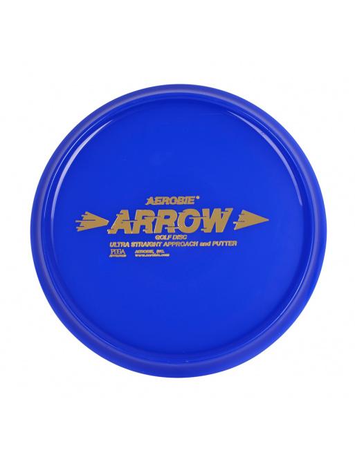 Létající talíř Aerobie ARROW modrý, disc golf