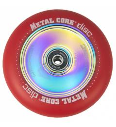 Metallkernscheibe 110 mm Rollenrot