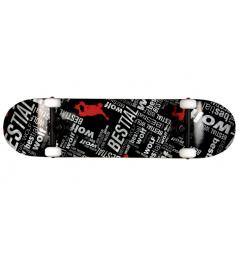 Bestialisch Wolf Underwolf Skateboard