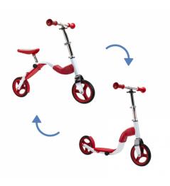 Scoobik Roller und Reflektor in einem roten