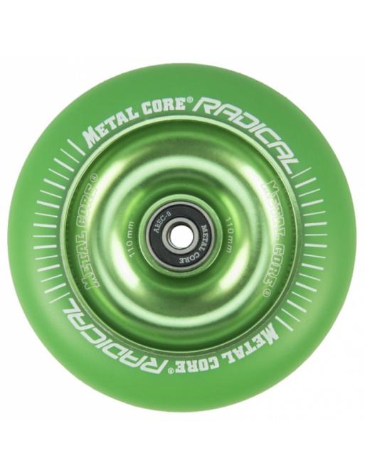 Metallkern Radical Fluorescent 110 mm grünes Rad