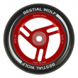 Bestial Wolf Race 110 mm Rad schwarz-rot