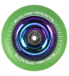 Metal Core Radical Rainbow 110 mm grünes Rad
