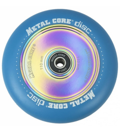 Metal Core Disc 110 mm blaues Rad