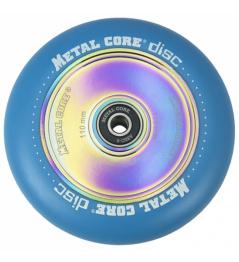 Metal Core Disc 110 mm blaues Rad