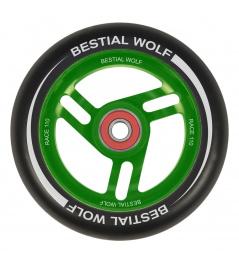 Bestial Wolf Race 110 mm Rad schwarz-grün