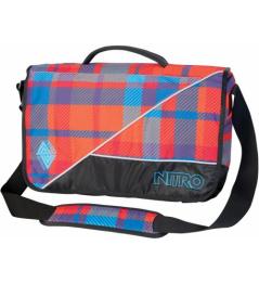 Nitro Evidence plaid red/blue 2013/14