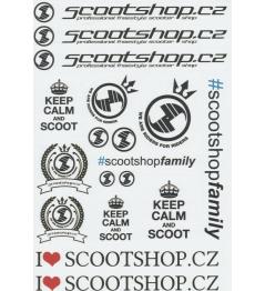 Scootshop.cz A4 Aufkleber