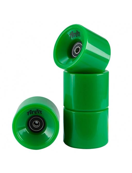 Flächenräder 4 Stück grün