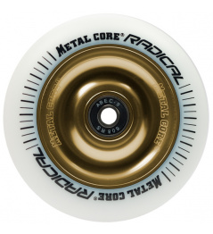 Metal Core Radical 110 mm weißes Goldrad
