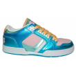 Boty Osiris NYC 83 LOW 10 W.blue/pink/white vell.UK5,5