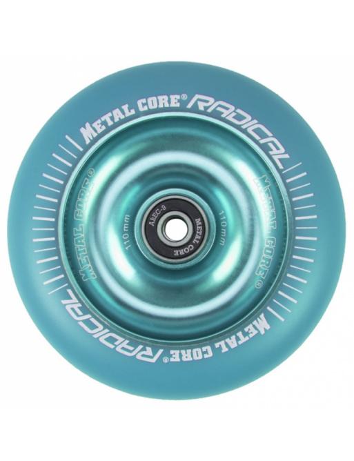 Metallkern Radical Fluorescent 110 mm blaues Rad