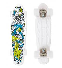 Skateboard Street Surfing FUEL BOARD Skelectron - artist series