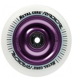 Metallkern Radical 110 mm rund weißviolett