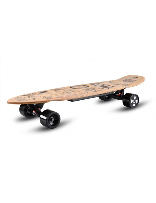 Elektrický longboard Skatey 350L wood art