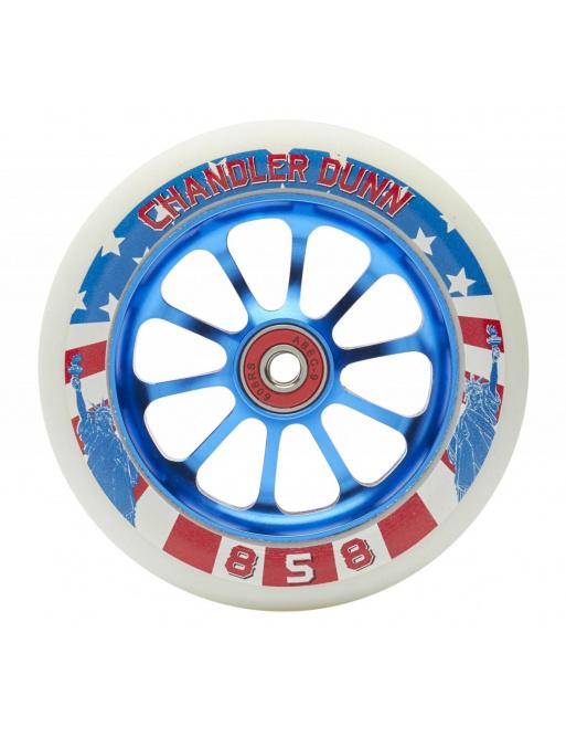 Ride 858 Chandler Dunn 120 mm Rollen blau