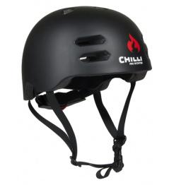 Chilli In-Mould schwarzer Helm