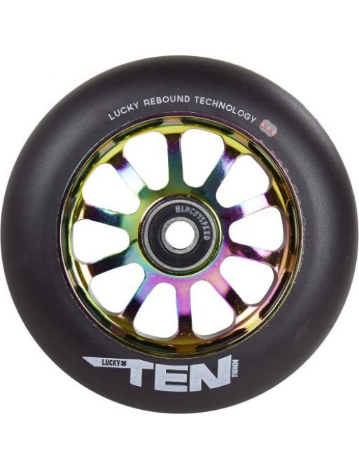 Lucky TEN 110 mm Regenbogenrad