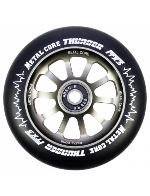 Metal Core Thunder 110 mm schwarzes Rad