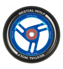 Bestial Wolf Race 100 mm Rad schwarz-blau