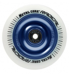 Metallkern Radical 110 mm Gusseisen weiß