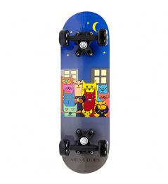 Bereich Katzen Skateboard