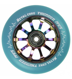 Metal Core Thunder Rainbow 110 mm blaues Rad