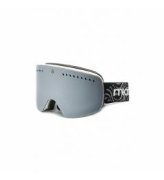 Brýle Meatfly Makki XL A white + lens 2018/19