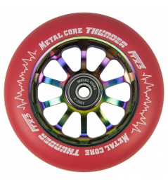 Metallkern Thunder Rainbow 110 mm Rollenrot