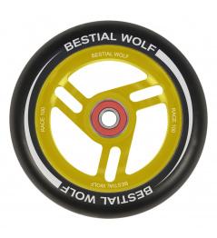Bestial Wolf Race 100 mm Kreis schwarz gelb