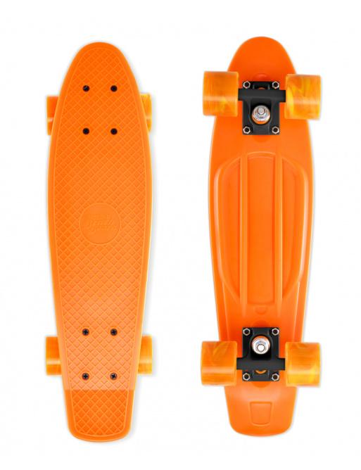 Skateboard Street Surfing BEACH BOARD Gnarly Sunset, oranžový