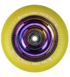Metallkern Radical Rainbow 110 mm Rollen gelb